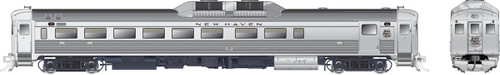 Rapido HO 16634 Budd Rail Diesel Car RDC-2, New Haven (Script Scheme) #120 (DC/DCC/Sound Equipped)
