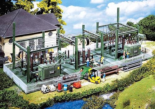 Faller HO 130958 Transformer Station Kit