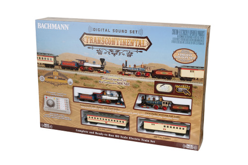 Bachmann HO 00827 Limited Edition Transcontinental Train Set, Union Pacific (E-Z Command and Digital Sound)