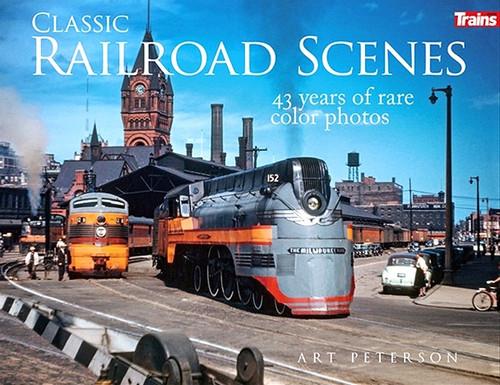 Kalmbach Publishing Softcover Book 01307 Classic Railroad Scenes