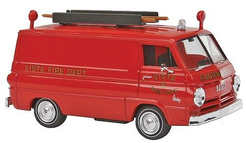 Brekina HO 34360 1964 Dodge A 100 Cargo Van, Vista New York Fire Rescue #6