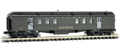 Micro-Trains N 14000330 RPO Heavyweight Passenger Car, Southern #35