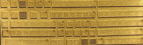 Chooch N 8678 Flexible Concrete Sidewalks and Details Sheet, Small