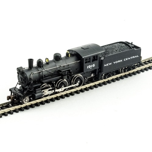 Model Power N 876071 2-6-0 Mogul Steam Locomotive, New York Central #1916 (DCC and Sound Equipped)