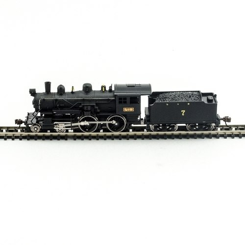 Model Power N 876271 4-4-0 American Steam Locomotive, Louisville and Nashville #7 (DCC and Sound Equipped)