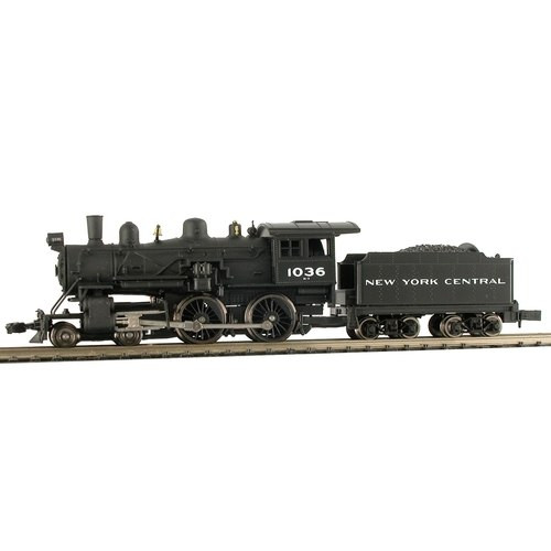 Model Power N 876301 4-4-0 American Steam Locomotive, New York Central #1015 (DCC and Sound Equipped)