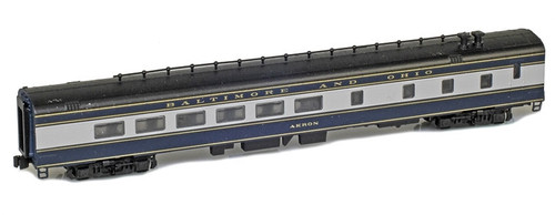 """American Z Line Z 73510-2 Lightweight Diner Car, Baltimore and Ohio """"Akron"""""""
