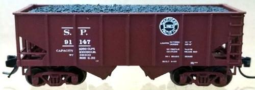 "Bluford Shops N 60472 USRA 30' 6"" 2-Bay Hopper, Southern Pacific (2-Pack)"