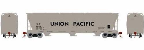 Athearn Genesis HO G15810 ACF 4600 3-Bay Centerflow Hopper, Union Pacific #21424