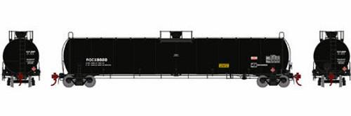 Athearn Genesis HO G25492 33,900 Gallon LPG Tank Car, ROCX (Early) #8036