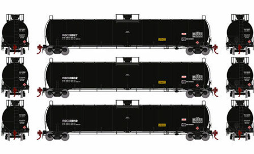 Athearn Genesis HO G25493 33,900 Gallon LPG Tank Car, ROCX (Early) (3)