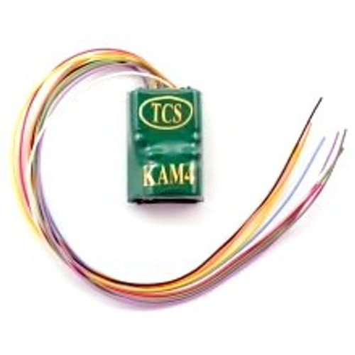Train Control Systems HO 1487 KAM4P-MH Decoder