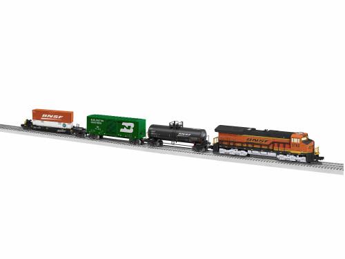 Lionel O 6-84732 LionChief Tier 4 Freight Set, Burlington Northern Santa Fe (Bluetooth Equipped)