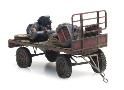 Artitec HO 487.601.03 RIP-Series Hay Wagon (Rusty)