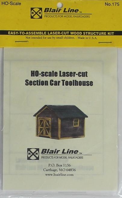 Blair Line HO 175 Section Car Toolhouse Kit