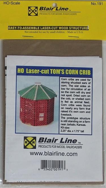 Blair Line HO 191 Tom's Corn Crib