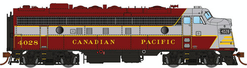 Rapido HO 222505 GMDD FP7, Canadian Pacific (Block Scheme) #4040 (Equipped with DCC and Sound)