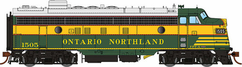 Rapido HO 222521 GMDD FP7, Ontario Northland (Delivery Scheme) #1500 (Equipped with DCC and Sound)