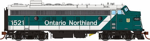 Rapido HO 222528 GMDD FP7, Ontario Northland (Progressive Scheme) #1521 (Equipped with DCC and Sound)