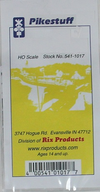 Pikestuff HO 541-1017 Railroad Crossbucks with Decals
