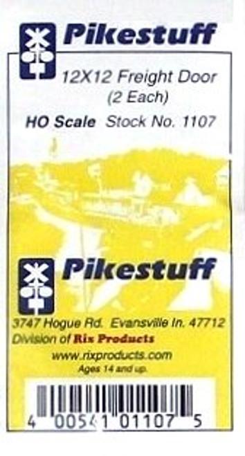 Pikestuff HO 541-1107 12 x 12 Freight Door (2)
