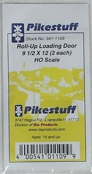 Pikestuff HO 541-1109 Roll-Up Loading Door 9.5 x 12 (2)