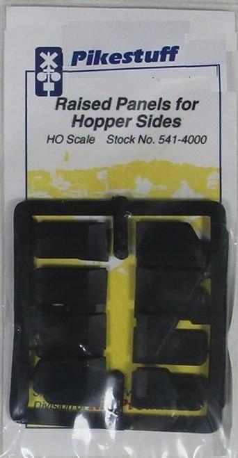 Pikestuff HO 541-4000 Raised Panels for Hopper Sides