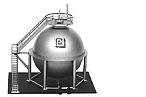 Plastruct HO 1026 Trackside Series Spherical Tank Kit