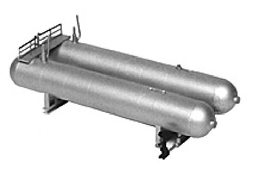 Plastruct N 2019 Twin Horizontal LP Gas Tank Kit