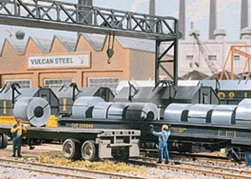 Walthers Cornerstone HO 933-1499 Steel Coil Load (12)