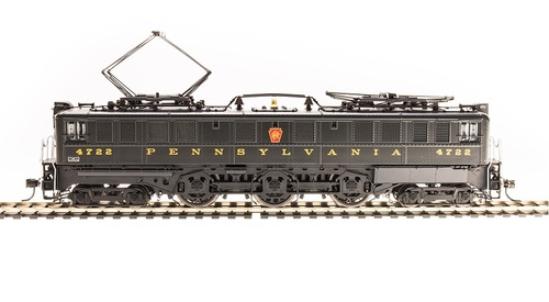 Broadway Limited Imports HO 4709 P5a Boxcab Electric Locomotive, Pennsylvania Railroad (Buff Yellow Round Roman Lettering) #4722 (Paragon3 Sound/DC/DCC Equipped)