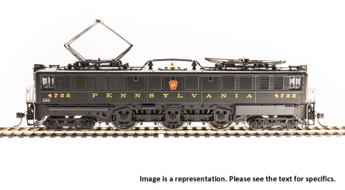 Broadway Limited Imports HO 4711 P5a Boxcab Electric Locomotive, Pennsylvania Railroad (Buff Yellow Round Roman Lettering) #4760 (Paragon3 Sound/DC/DCC Equipped)
