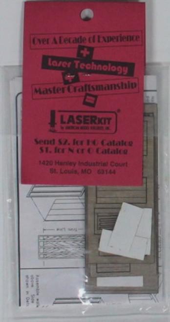 American Model Builders HO 113 Railroad Telephone Booth Kit