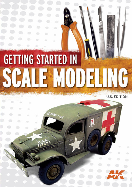 Kalmbach Publishing Softcover Book 12818 Getting Started in Scale Modeling