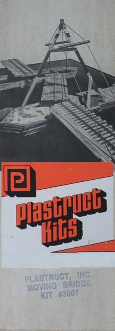 Plastruct O 3007 Trackside Series Old-Time Moving Bridge Kit