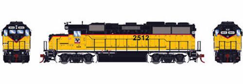 Athearn Genesis HO G65430 GP50, Dakota and Iowa #2512 (DCC and Sound Equipped)