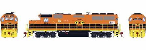 Athearn Genesis HO G65701 GP50 Phase 1, Indiana and Ohio #5012