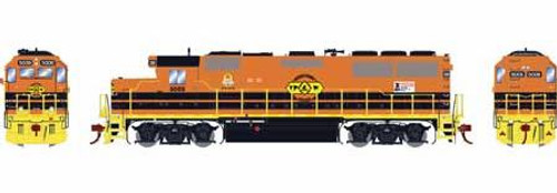 Athearn Genesis HO G65702 GP50 Phase 1, Toledo Peoria and Western #5009
