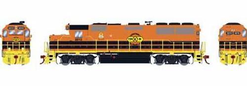 Athearn Genesis HO G65703 GP50 Phase 1, Toledo Peoria and Western #5010