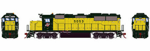 Athearn Genesis HO G65785 GP50, Chicago and Northwestern #5053 (DCC and Sound Equipped)