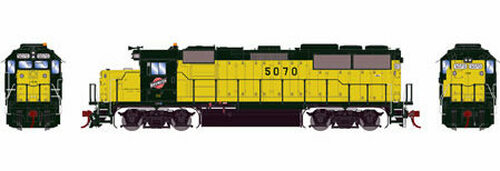 Athearn Genesis HO G65786 GP50, Chicago and Northwestern #5070 (DCC and Sound Equipped)