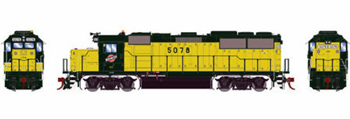 Athearn Genesis HO G65787 GP50, Chicago and Northwestern #5078 (DCC and Sound Equipped)