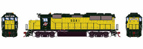 Athearn Genesis HO G65788 GP50, Chicago and Northwestern #5081 (DCC and Sound Equipped)