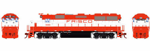 Athearn Genesis HO G65789 GP50, Frisco #3100 (DCC and Sound Equipped)