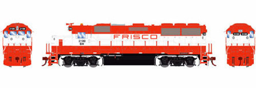 Athearn Genesis HO G65790 GP50, Burlington Northern (Orange/White) #3100 (DCC and Sound Equipped)