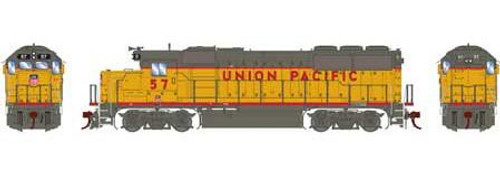 Athearn Genesis HO G65795 GP50 Phase 1, Union Pacific #57 (DCC and Sound Equipped)