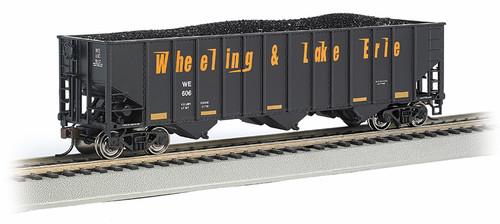 Bethlehem Steel 100-Ton 3-Bay Hopper, Wheeling and Lake Erie #606