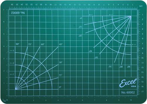 """Excel 60002 Self Healing Cutting Mat, 8-1/2"""" x 12"""""""