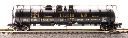 Broadway Limited Imports N 3723 Cryogenic Tank Cars, Canadian Liquid Air (2-Pack)