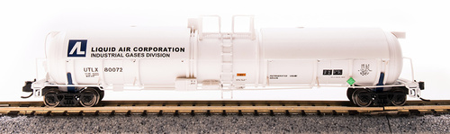 Broadway Limited Imports N 3725 Cryogenic Tank Cars, Liquid Air Corp. (2-Pack)